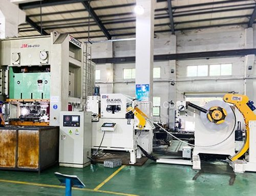 Feeding & coil handling equipment for automotive structural parts stamping