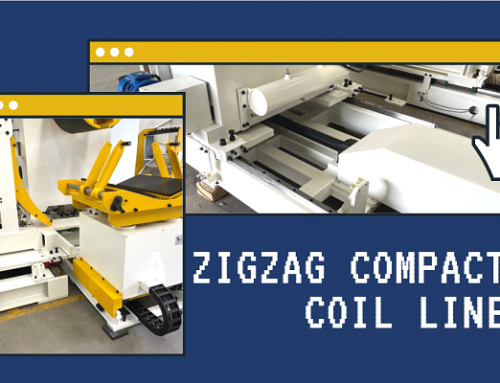 A zigzag coil line is in the assembly test